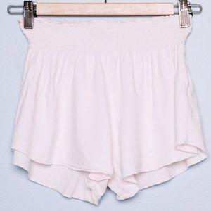 Brandy Melville Shorts - Brandy Melville Ross Shorts - Light Pink